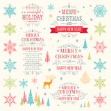 Boże Narodzenia ustawiający - ilustracja Fotografia Royalty Free
