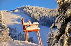 Boże Narodzenia w Czarnego lasu zimie w Todtnauberg śniegu Fotografia Royalty Free