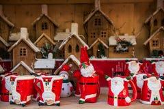 Boże Narodzenia Wprowadzać na rynek blisko urzędu miasta na Albert kwadracie w Machester Zdjęcie Royalty Free