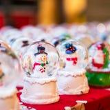 Boże Narodzenia Wprowadzać na rynek blisko urzędu miasta na Albert kwadracie w Machester Zdjęcia Royalty Free