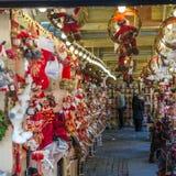 Boże Narodzenia Wprowadzać na rynek blisko urzędu miasta na Albert kwadracie w Machester Zdjęcie Stock