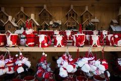 Boże Narodzenia Wprowadzać na rynek blisko urzędu miasta na Albert kwadracie w Machester Obraz Stock