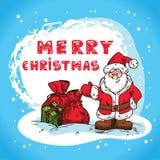 Boże Narodzenia wręczają patroszonego Obrazy Royalty Free