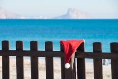 Boże Narodzenia wyrzucać na brzeg wjazd zdjęcie royalty free