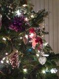 boże narodzenia zamykają drzewa drzewo Zdjęcia Stock