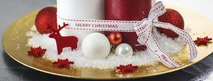 Boże Narodzenia zamykają up, adwent Zdjęcia Stock