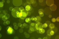Boże Narodzenia zielenieją bokeh Fotografia Stock