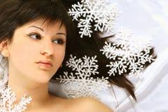 boże narodzenie śnieg Obraz Royalty Free