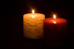 boże narodzenie świece. zdjęcia royalty free