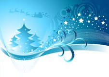 boże narodzenie abstrakcyjna zimy. Zdjęcia Stock