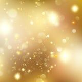 Boże Narodzenie błyskotliwości Defocused tło Z mruganie gwiazdami EPS 10 wektor ilustracja wektor
