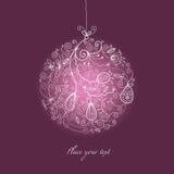 boże narodzenie balowy ornament ilustracja wektor