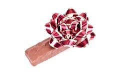 boże narodzenie czekoladowa niespodzianka obraz royalty free