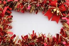 boże narodzenie dekoraci rama Zdjęcia Royalty Free