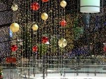 boże narodzenie dekoracja w niemieckim centrum handlowym obraz stock