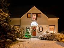 Boże Narodzenie dom Zdjęcia Royalty Free