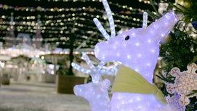 Boże Narodzenie dowodzona jelenia dekoracja zbiory
