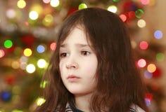 boże narodzenie dziewczyna Fotografia Royalty Free
