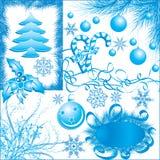 boże narodzenie elementów projektu płatków śniegu vecto zimy. ilustracja wektor