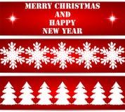 Boże Narodzenie etykietki Obrazy Royalty Free