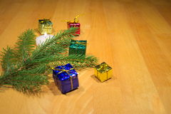 Boże Narodzenie gałązka Fotografia Royalty Free