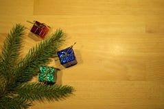 Boże Narodzenie gałązka Obrazy Royalty Free