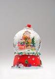 boże narodzenie globe śnieg Obraz Royalty Free