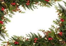 Boże Narodzenie Granica zdjęcie royalty free