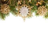 Boże Narodzenie Granica zdjęcia stock