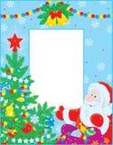 Boże Narodzenie granica royalty ilustracja