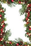 Boże Narodzenie granica obrazy stock