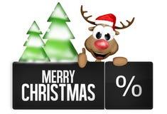 Boże Narodzenie guzik Zdjęcie Royalty Free