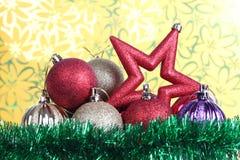 Boże Narodzenie gwiazda dwa zdjęcie royalty free