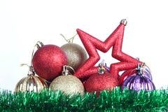 Boże Narodzenie gwiazda jeden zdjęcie royalty free
