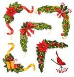 Boże Narodzenie kąty. ilustracji