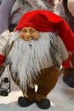 Boże Narodzenie karzeł z czerwoną nakrętką obrazy stock