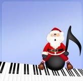Boże Narodzenie koncert z Szmaragdowym miasto chorem w Wichita ilustracji