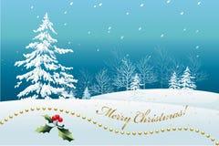 Boże Narodzenie Krajobraz Zdjęcie Royalty Free