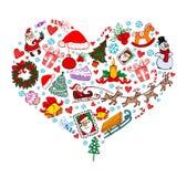 boże narodzenie miłość ilustracji