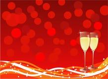 boże narodzenie nowy rok ilustracja wektor