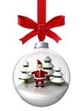 boże narodzenie ornament Santa Obraz Royalty Free