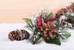 Boże Narodzenie ornamentu zbliżenie Obrazy Royalty Free