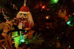 Boże Narodzenie ornamenty - dziadkowie do orzechów zdjęcia royalty free
