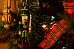 Boże Narodzenie ornamenty - dziadkowie do orzechów obrazy royalty free