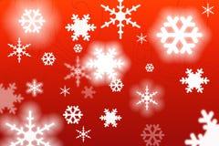 boże narodzenie płatki śniegu Fotografia Royalty Free