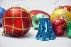 Boże Narodzenie piłki i zabawki Zdjęcie Royalty Free