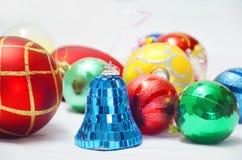 Boże Narodzenie piłki i zabawki Obraz Royalty Free