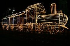 Boże Narodzenie pociąg zdjęcia stock