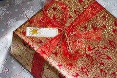boże narodzenie prezent Zdjęcie Royalty Free