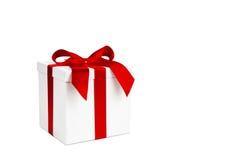 boże narodzenie pudełkowaty prezent zdjęcie stock
